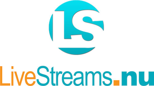 LIVESTREAMS.NU Logo